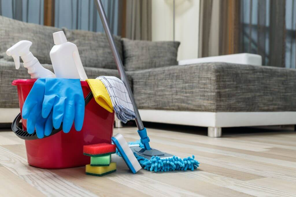 основно почистване на домове