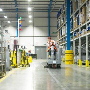 Почистване на производствени помещения