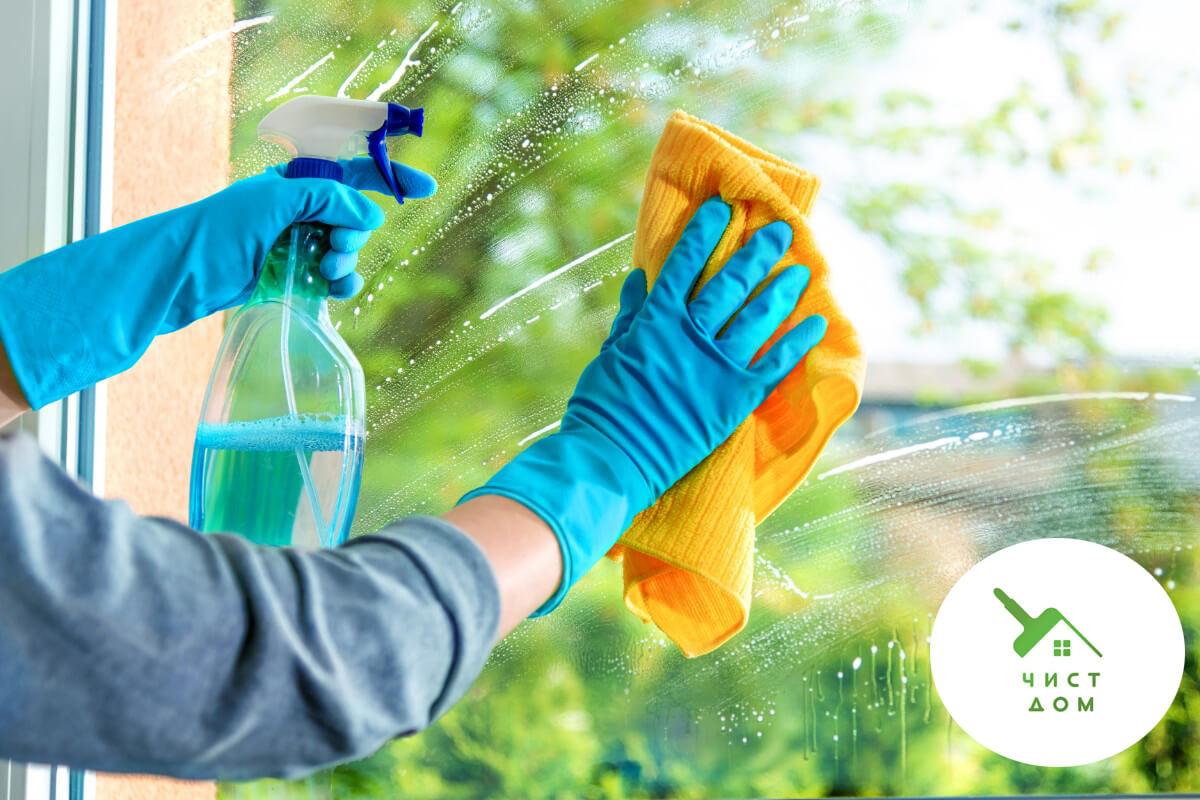 как да почистим прозорците