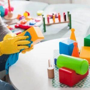 почистване на детски градини