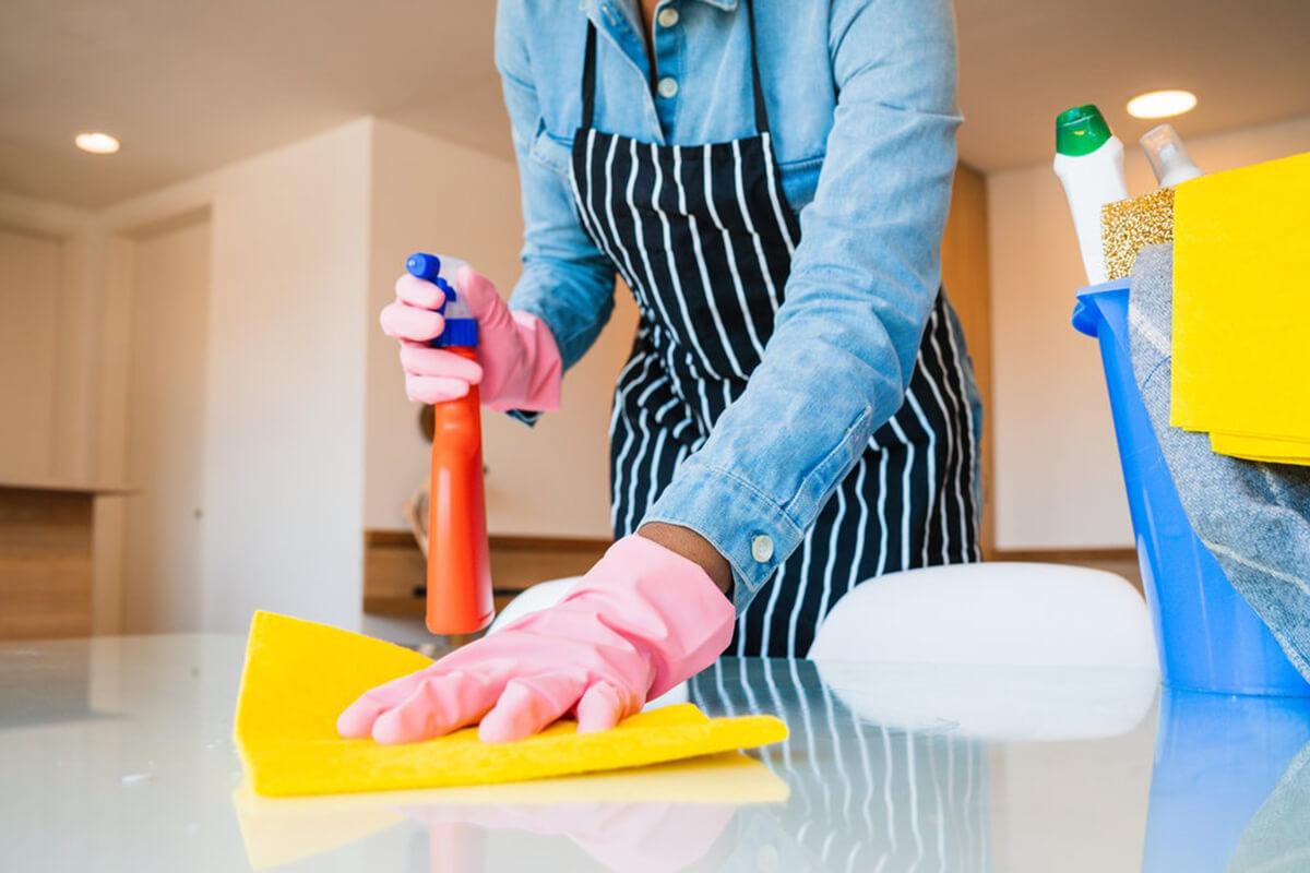 домашна помощница почистване на дома