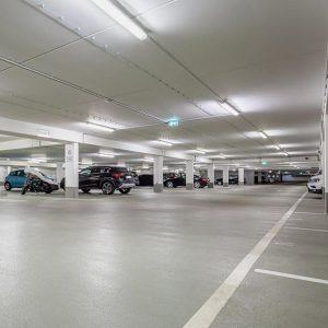 Професионално почистване на подземни гаражи и паркинги