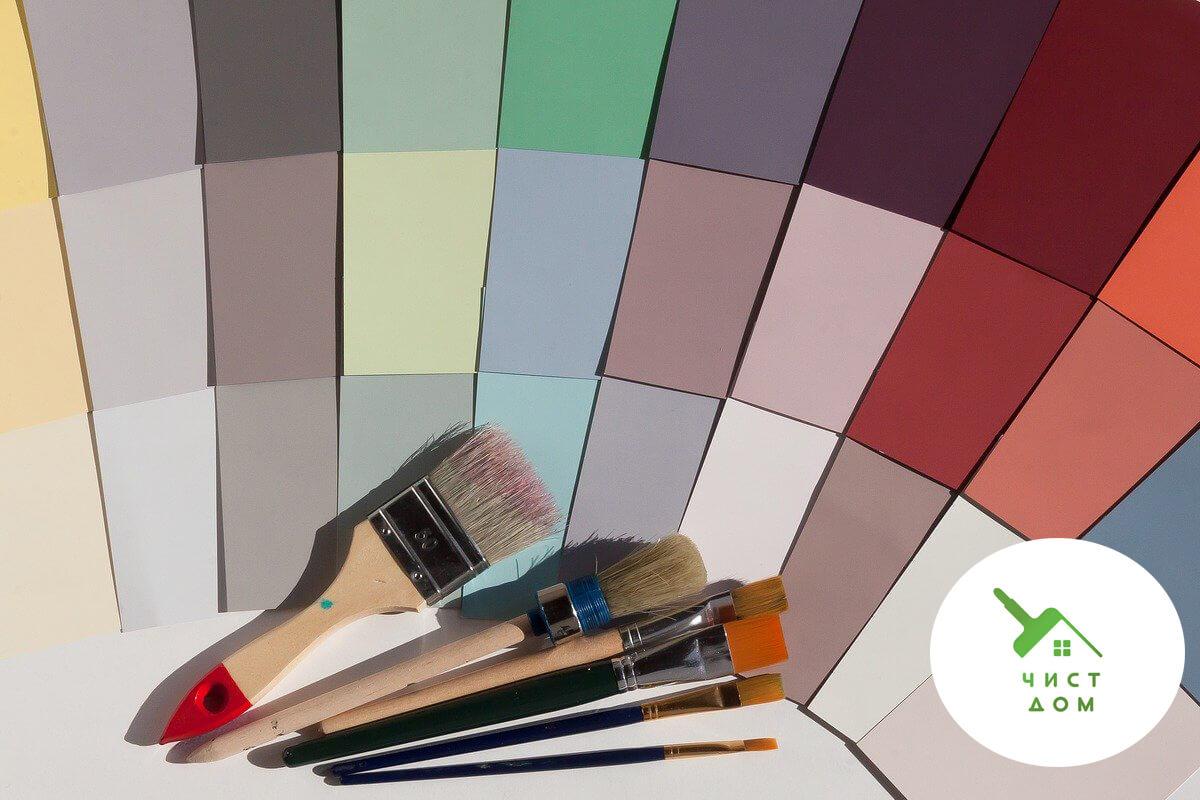 цветовете в интериора